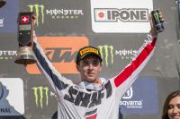 Hunter Lawrence mist start van het East Coast Lites Supercross Kampioenschap