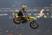 Justin Hill het snelste in kwalificatie Supercross Parijs