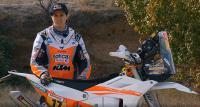 Zie het strijdwapen van Laia Sanz voor de Dakar Rally