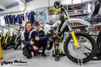 Raf Meuwissen voor Mellendijk Motor Parts in de Dutch Masters of Motocross!