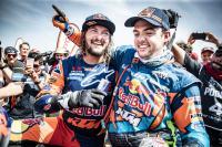 Zie het succes van KTM in de Dakar Rally