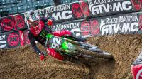 Film: Webb, Reed, Ferrandis e.a. testen AMA supercross circuit in Atlanta