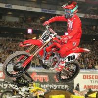 Justin Brayton terug bij de AMA Supercross in Minneapolis