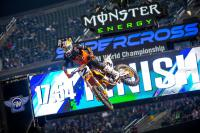 Webb pakt derde AMA Supercross zege in Minneapolis, Roczen weer leider