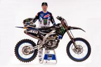 Wat zijn de speciale onderdelen op de fabrieks Yamaha van Romain Febvre