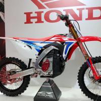 Film: Honda presenteert prototype elektrische crossmotor