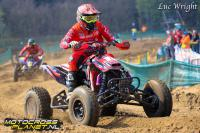 Mike van Grinsven wint beide manches van de Dutch Quad Masters in Lommel