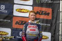 Kay de Wolf sterk derde in tweede manche EMX125 in Frankrijk