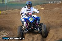 Succes en tegenslag voor Marc de Vries in Dutch Quad Masters in Lommel