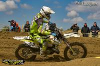 Mike Kras pakt pole position in EMX2-T in Mantova