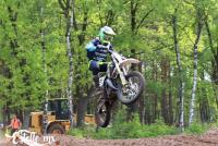Yourick den Hollander in de top tien in het ONK 85cc in Harfsen