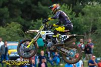 Zie de pittige crashes van Anstie, Olsen, Jacobi en Sterry in Lommel
