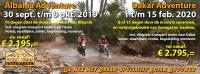 Informatie over Albania-Dakar-Transpana en Marokko Adventure in 2019 en 2020