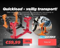 Inladen & Vastzetten - Quickload Transport Systeem Nu in de Sale !