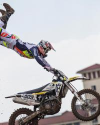 Freestyletraining met Alberto Forato in China