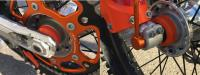 KTM WHEEL BEARING PROTECTION BIJ JTX RACING