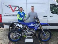 Michael van Wezel in 2020 voor het van Dam Motorsport team powered by 2B-One