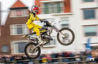 Scott Smulders pakt top drie plaats in strandcross in Vlissingen