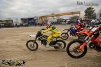 Scott Smulders tweede in strandcross in Lemmer