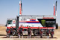 Monster Energy HRC Honda team presenteert line up voor rally wedstrijden