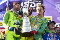 Team Australie blijft het World Trophy klassement aanvoeren in de ISDE