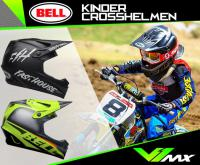 Kinder Crosshelm | Bell Moto-9 MIPS Youth