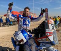Paul Spierings finisht als vijfentwintigste in Dakar Rally