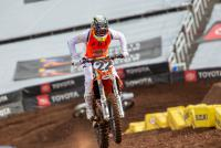 Bubbelende benzine voor Chad Reed in Salt Lake City