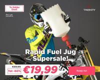 Megadeal op Twenty Rapid Fuel Jug bij 24MX! Bijtanken in seconden!