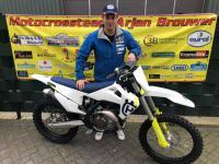 WK punt voor Arjan Brouwer MX team in Lommel