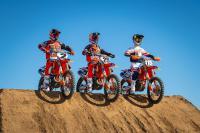 Zie de teampresentatie van Red Bull KTM met Musquin, Webb en Vohland