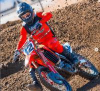 Zie Shane McElrath in actie op de MotoConcepts Honda