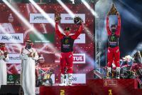 Zie het succes van HRC Honda tijdens de Dakar Rally