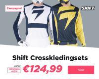 SHIFT MX Racekleding uitverkoop bij 24MX!