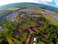 Animated trackmap: AMA Outdoor National in Red Bud