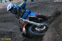 Actiebeelden loodzware NK Motorcross in Heerde
