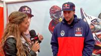 Pit chat with Tommy Searle at the GP of Italy