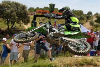 Dylan Ferrandis takes the pole in the MX2 class in Spain