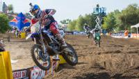 Onboard action from Hangtown with Roczen, Cianciarulo and Peick