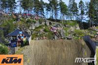 Video highlights MX2 qualifying heat GP Sweden