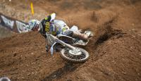 250MX: Cooper Webb makes late charge to win Moto 1 at Glen Helen