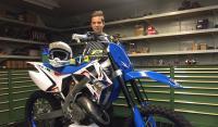 Brian van der Klij hervat motortraining
