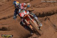 Jeffrey Herlings wins first MX2 moto in Latvia