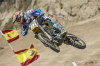 Jeremy Seewer wins MX2 qualifying heat in Lommel