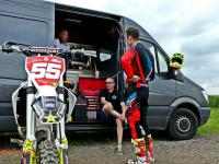 Film: Mike Kras test supercross university circuit van Emmen