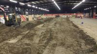 Foto\'s: Baanopbouw Supercross Zuidbroek in volle gang