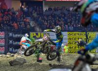 Rockstar Energy Husqvarna Factory Racing\'s Colton Haaker finishes in 2nd at Seattle Endurocross