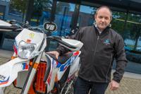 Iginio Voorhorst pakt geliefde sport weer op bij EK Enduro in Harfsen
