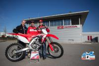 Ander Valentin signs with Carglass Honda for the world championship MXGP