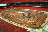 Animatielap AMA Supercross circuit in Atlanta